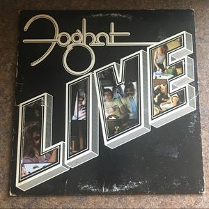 Other - Foghat Live Vinyl LP Album